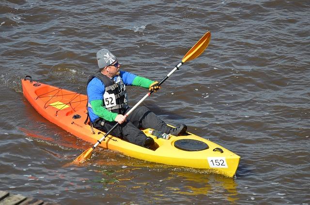 skillnad kajak och kanot