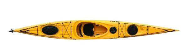 Sportig kajak gul, Urberg