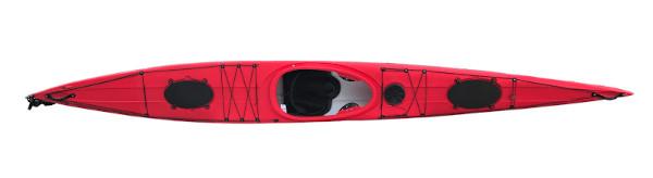 Röd speed kayak, Urberg
