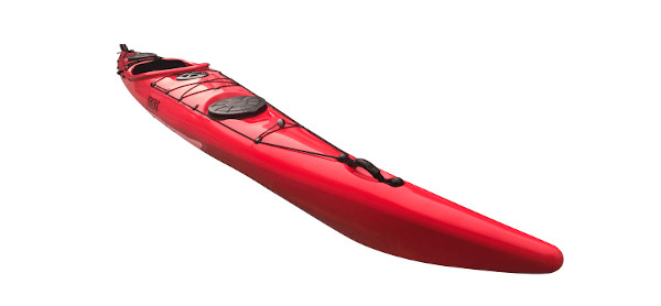 Urberg havskajak, röd